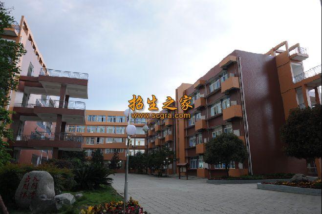 四川省温江中学教学楼