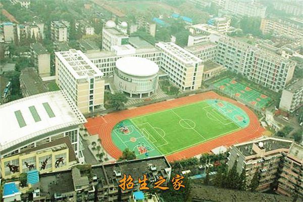 四川省成都市第十二中学学校鸟瞰图